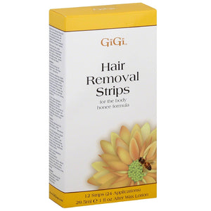 GiGi Hair Removal Strips for the Body 12 ea
