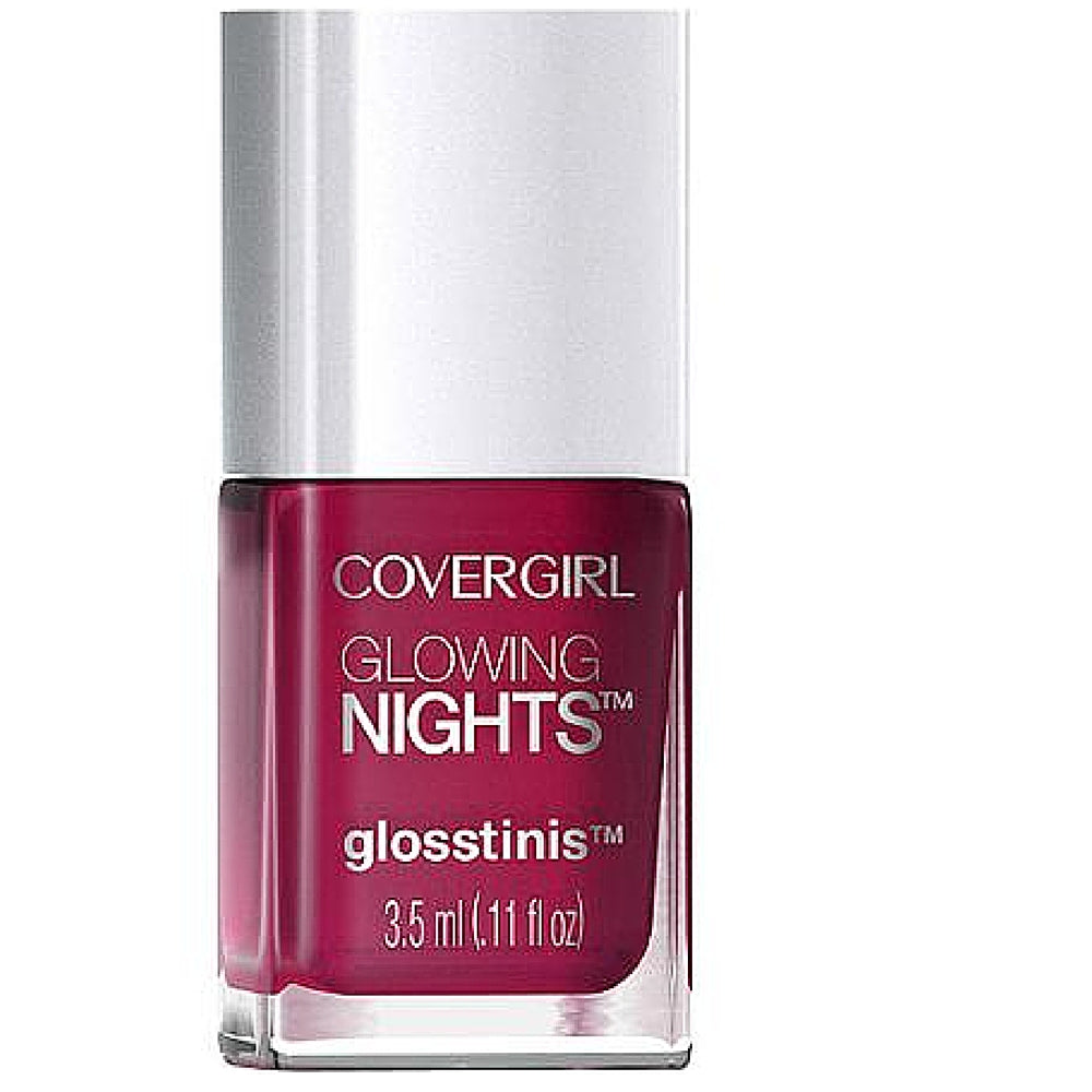 CoverGirl Glowing Nights Glosstinis Nail Gloss, Glow Stick 0.11 oz