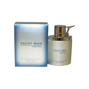 Yacht Man Metal By Myrurgia Eau-de-toilette Spray For Men 3.4 oz