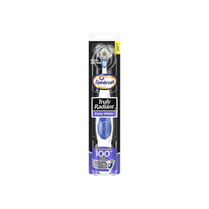 ARM & HAMMER Spinbrush Powered Truly Radiant Toothbrush, Extra White, Soft 1 ea