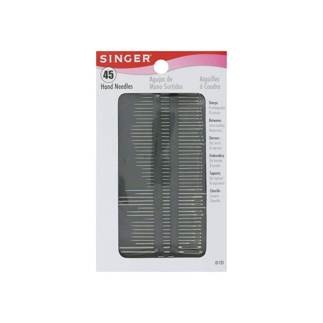 Singer Assorted Hand Needles 45 ea
