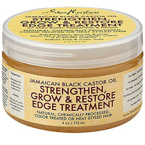 Shea Moisture Jamaican Black Castor Oil Strengthen, Grow, & Restore Edge Treatment 4 oz
