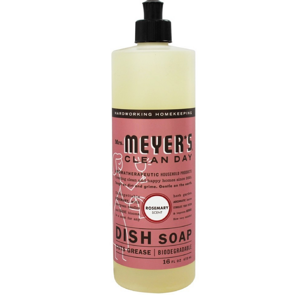 Mrs. Meyers Clean Day Dish Soap, Rosemary 16 oz