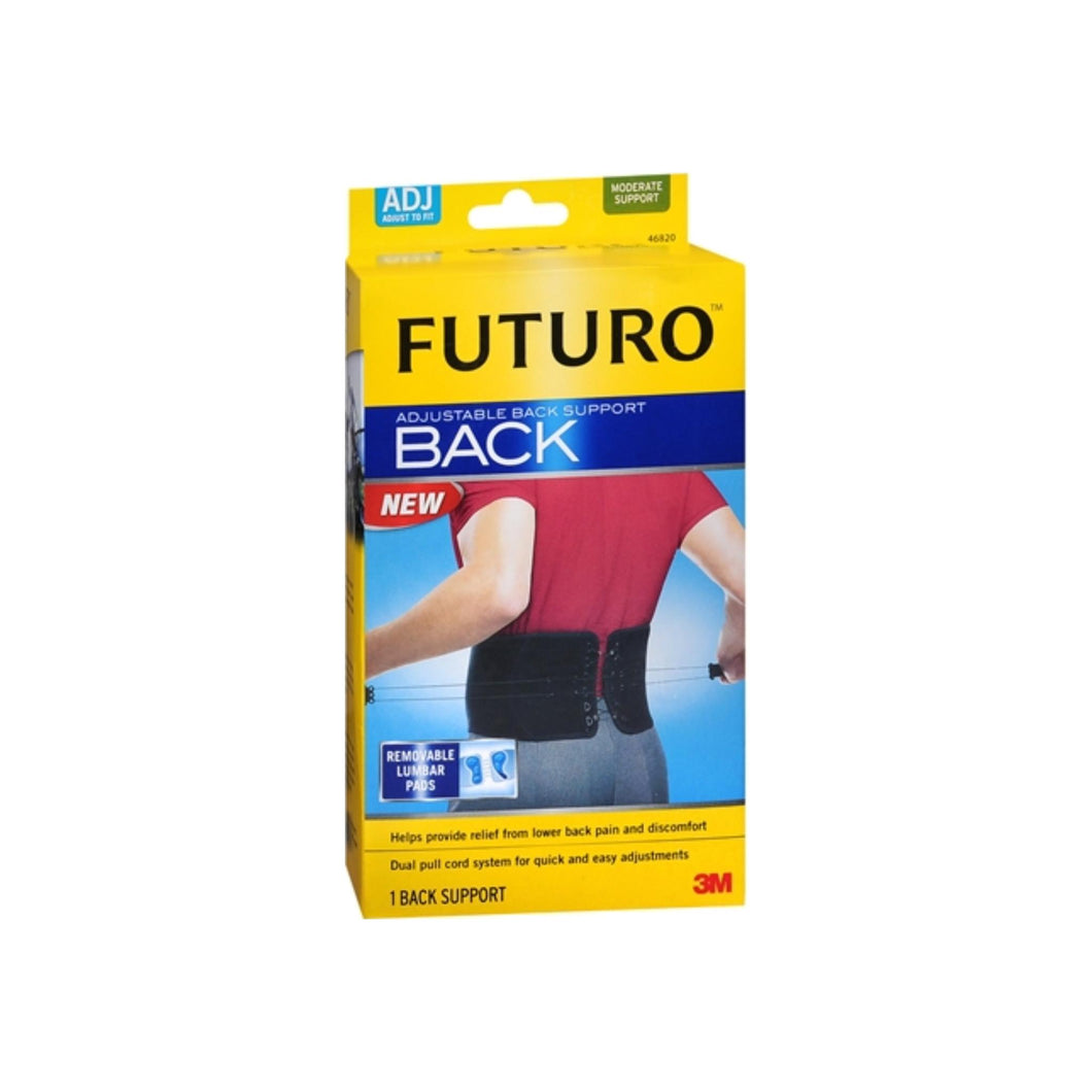 3M Futuro Adjustable Back Support 1 Each