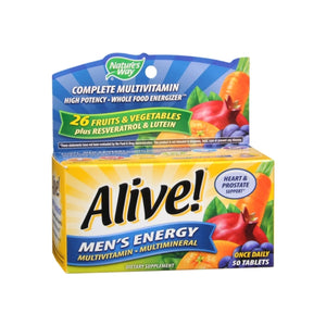 Alive! Tablets Men's Energy 50 ea