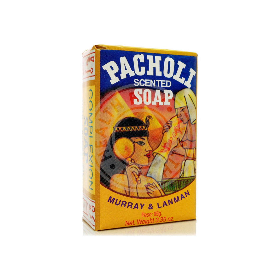 MURRAY & LANMAN Pacholi Scented Soap 3.35 oz