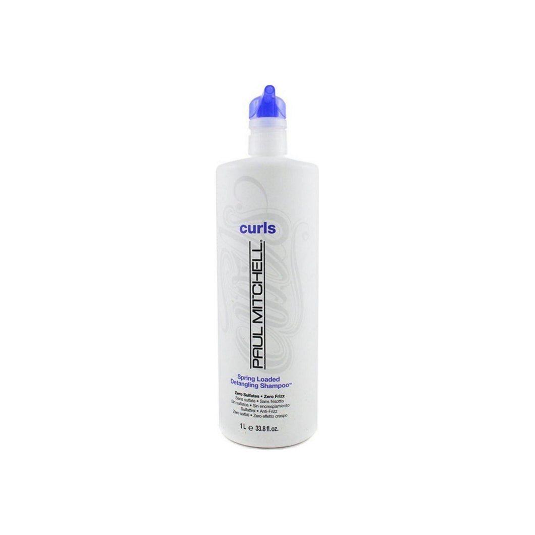 Paul Mitchell Curls Spring Loaded Detangling Shampoo for Unisex 33.8 oz