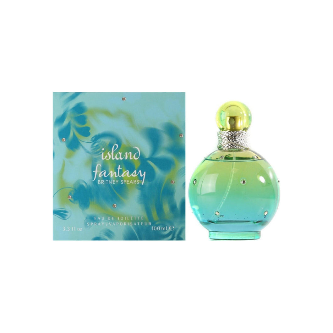 Island Fantasy by Britney Spears Eau de Toilette Spray for Women 3.3 oz