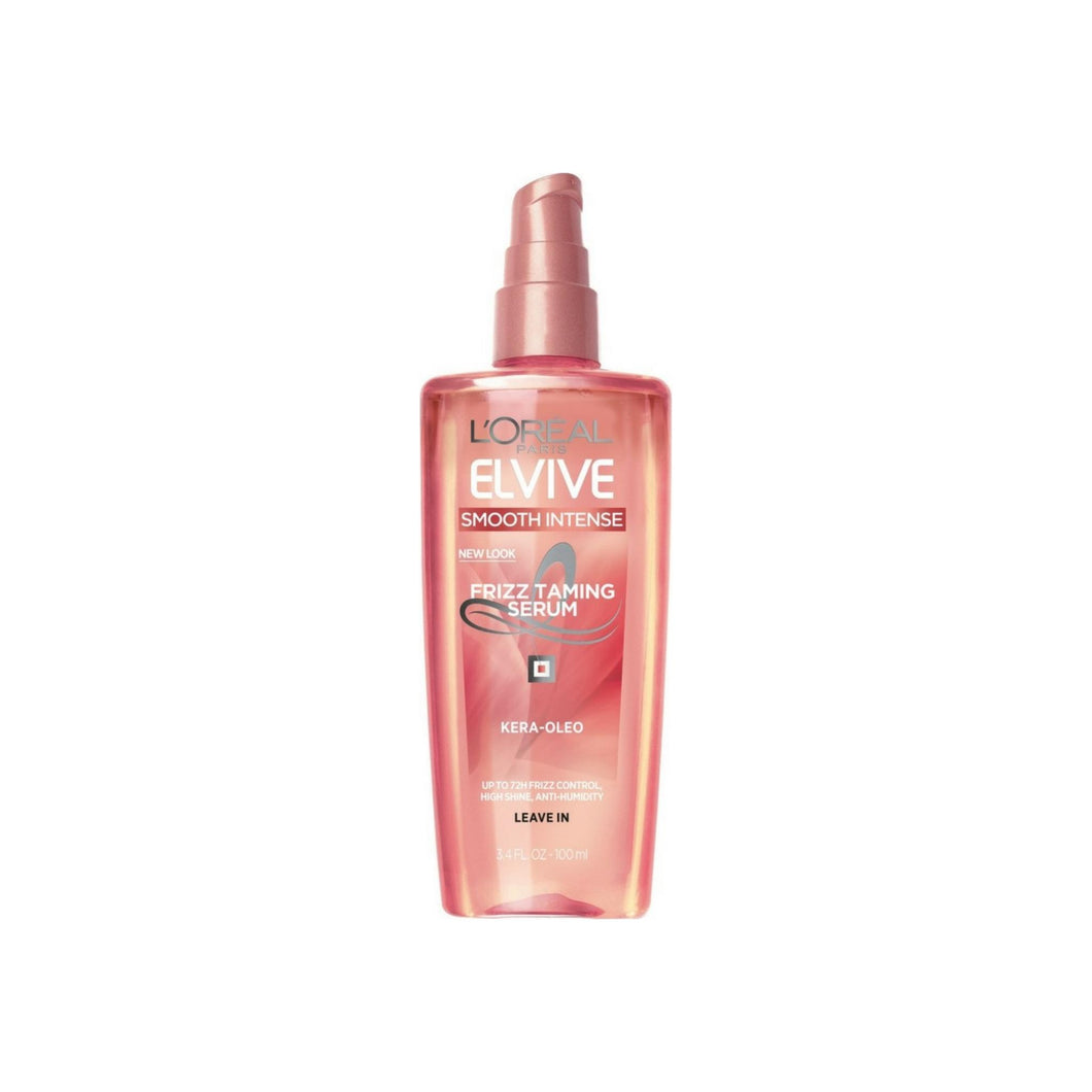 L'Oreal Advanced Haircare Smooth Intense Frizz Taming Serum 3.4 oz [071249240502]