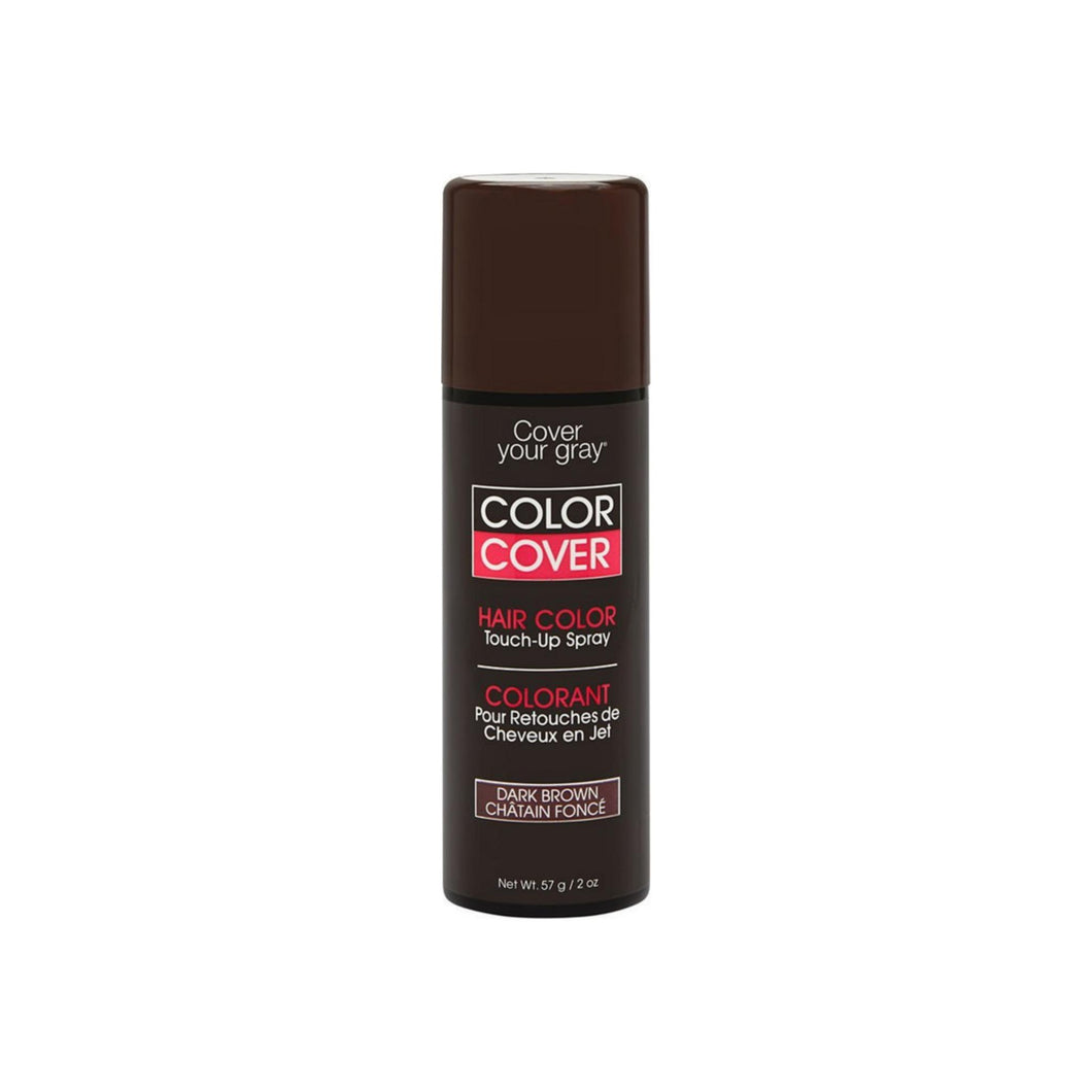 Cover Your Gray Color Touch-Up Spray, Dark Brown 2 oz