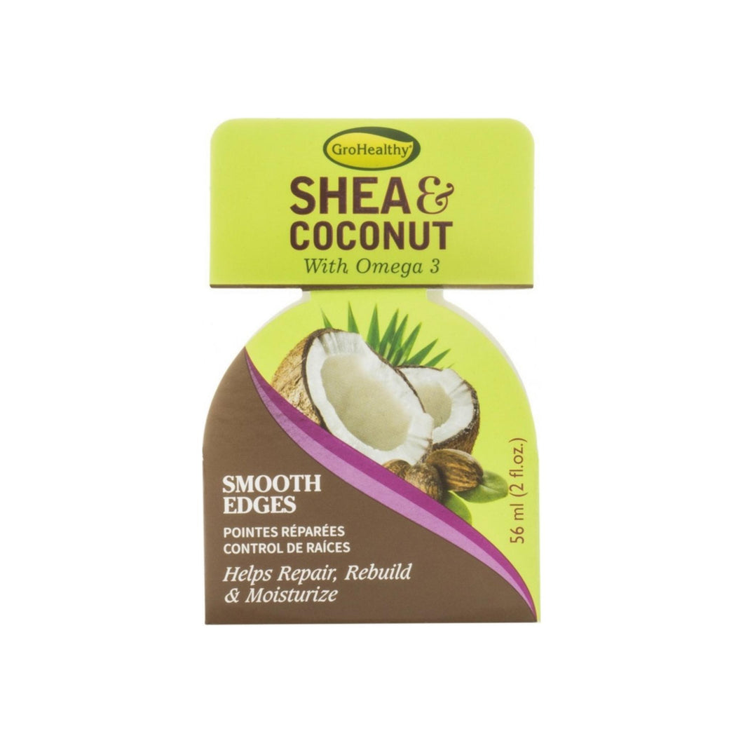 Sofnfree GroHealthy  Shea & Coconut Smooth Edges 2 oz