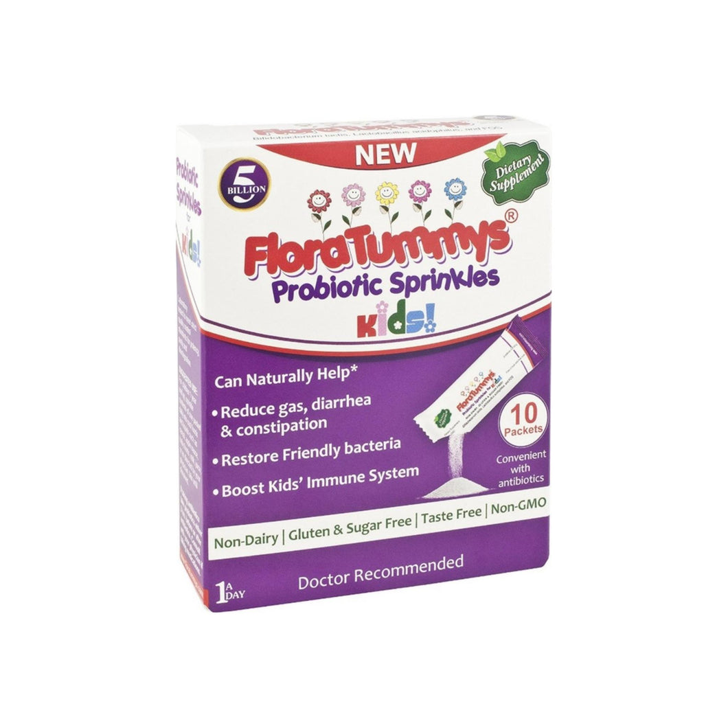 FloraTummys Probiotic Sprinkle Packets for Kids 10 ea
