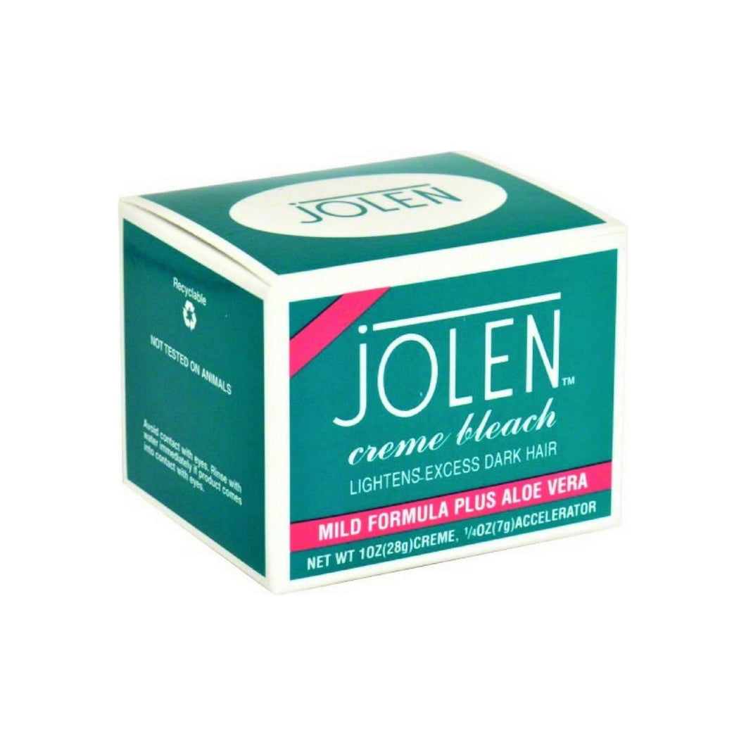 Jolen Creme Bleach Sensitive Formula Plus Aloe Vera 1.2 oz