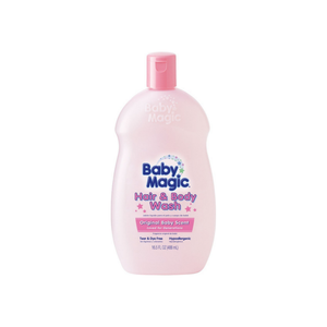 Baby Magic Hair & Body Wash, Original Baby Scent 16.50 oz