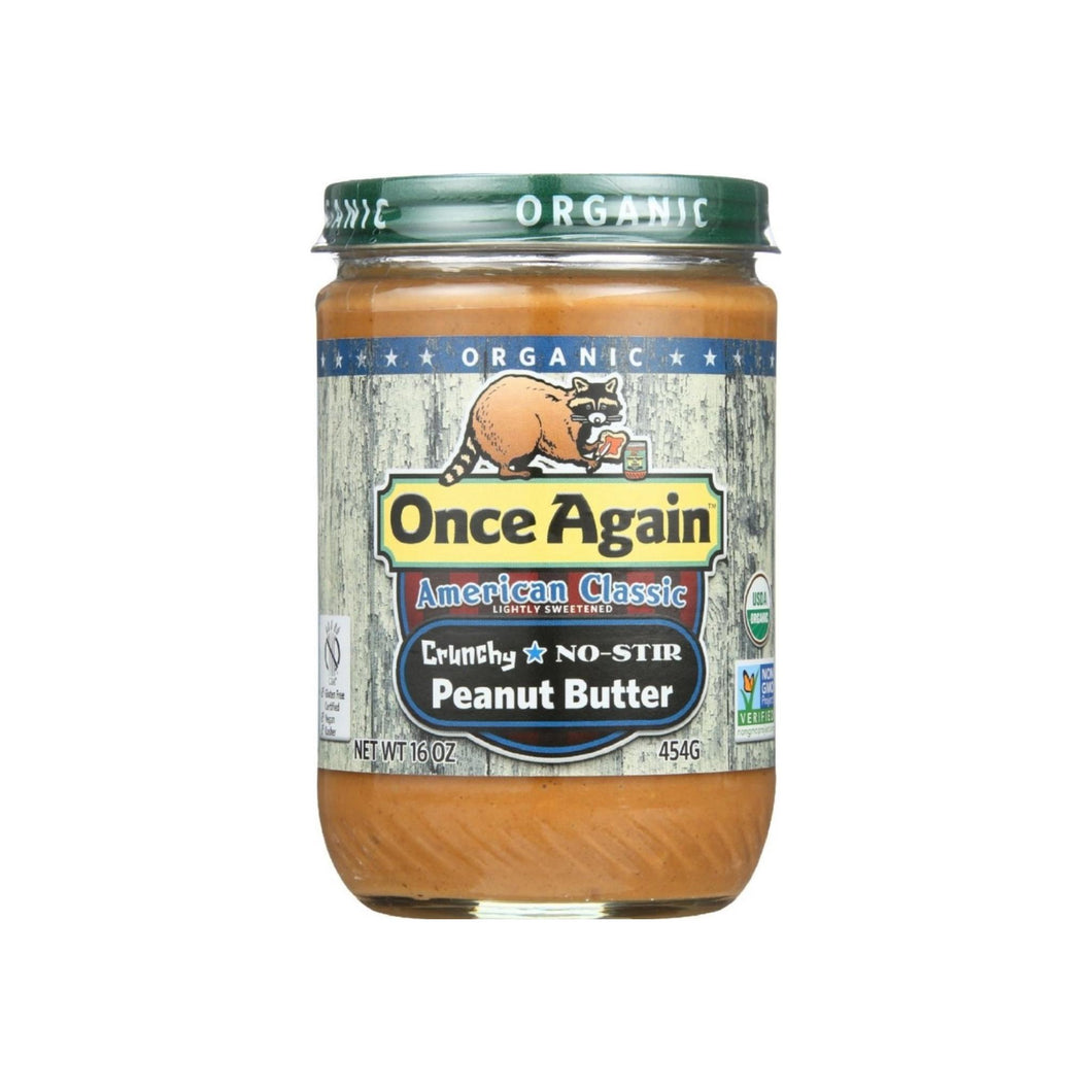 Once Again American Classic Crunchy Peanut Butter 16 oz