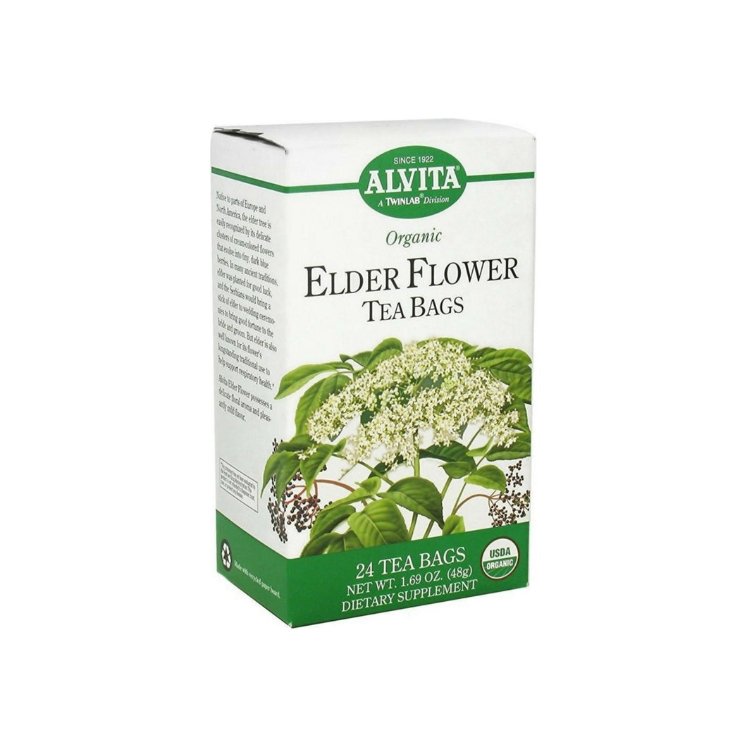Alvita Elder Flower Tea Bags 24 ea