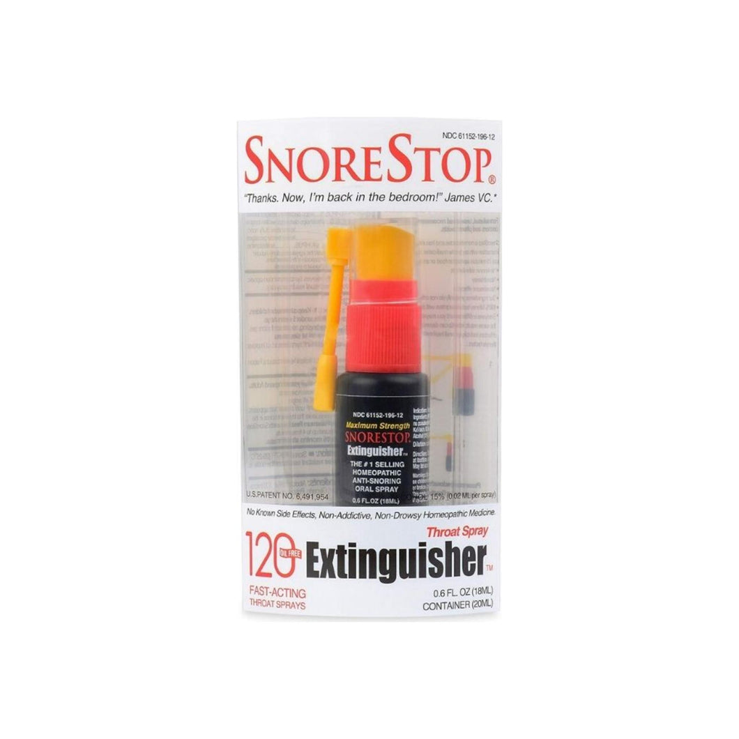 SnoreStop Extinguisher Throat Spray [120] 0.6 oz