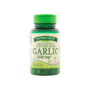 Nature's Truth Garlic 1200 mg Odorless Supplements 120 ea
