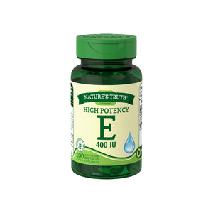 Nature's Truth Vitamin E 400 Complex with Natural D-alpha 100 ea