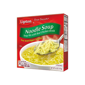 Lipton Soup Secrets Noodle Soup with Real Chicken Broth 4.5 oz [041000003240]