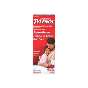 TYLENOL Children's Pain & Fever Liquid, Cherry Flavor 4 oz