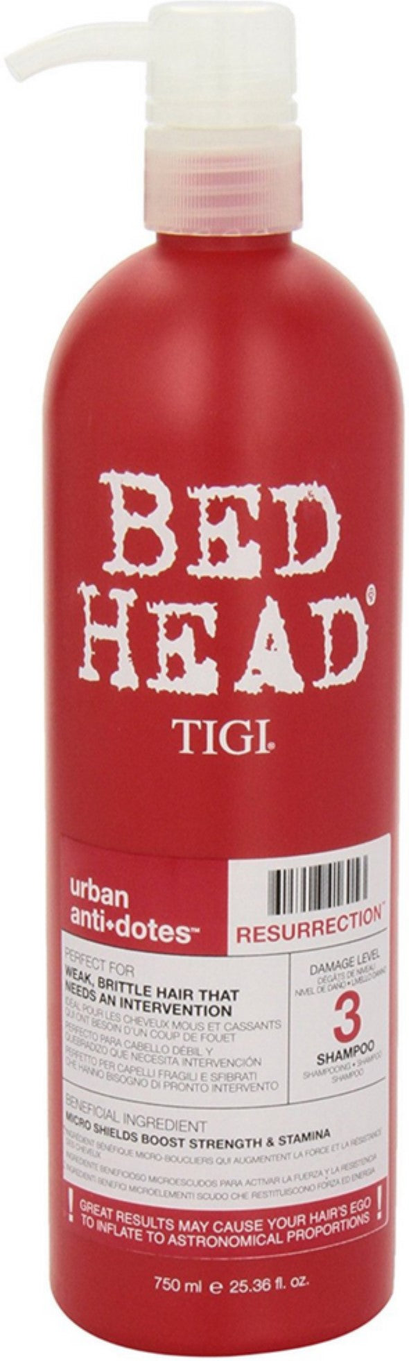 TIGI Bed Head Urban Anti+dotes Resurrection Shampoo 25.36 oz