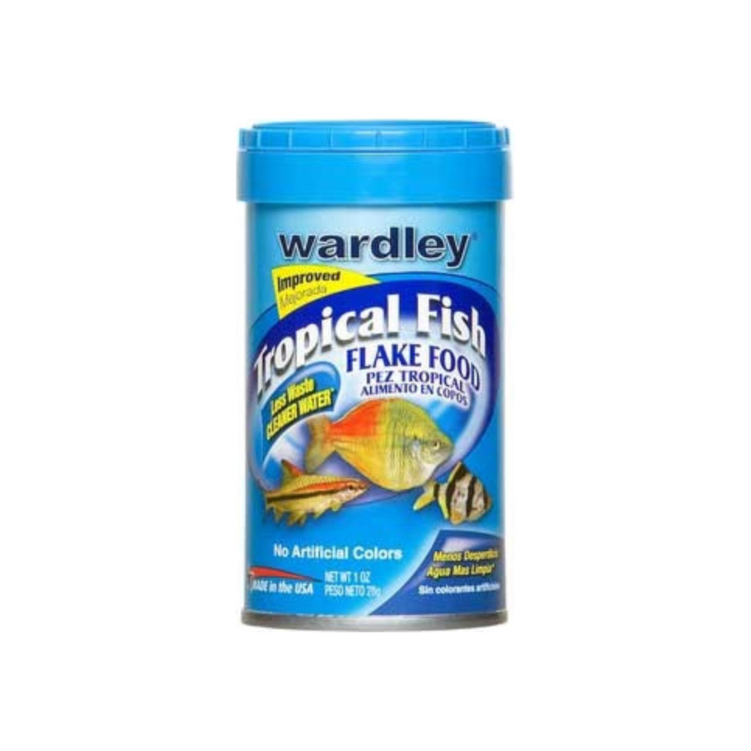 Wardley Tropical Fish Flake Food 1 oz