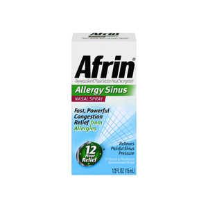 Afrin Allergy Sinus Nasal Spray 0.50 oz