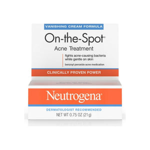 Neutrogena On-The-Spot Acne Treatment Vanishing Cream Formula 0.75 oz