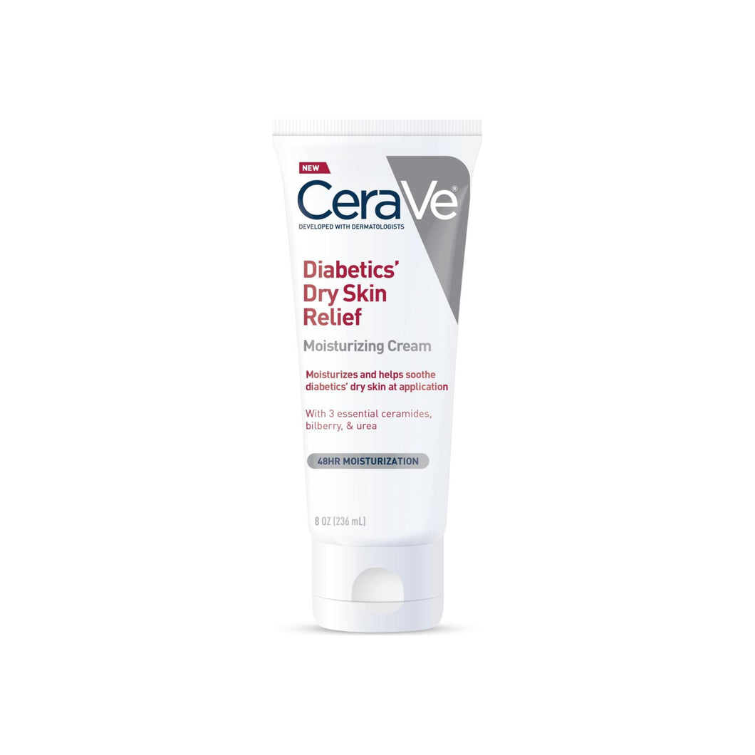 CeraVe  Diabetics' Dry Skin Relief Moisturizing Cream 8 oz