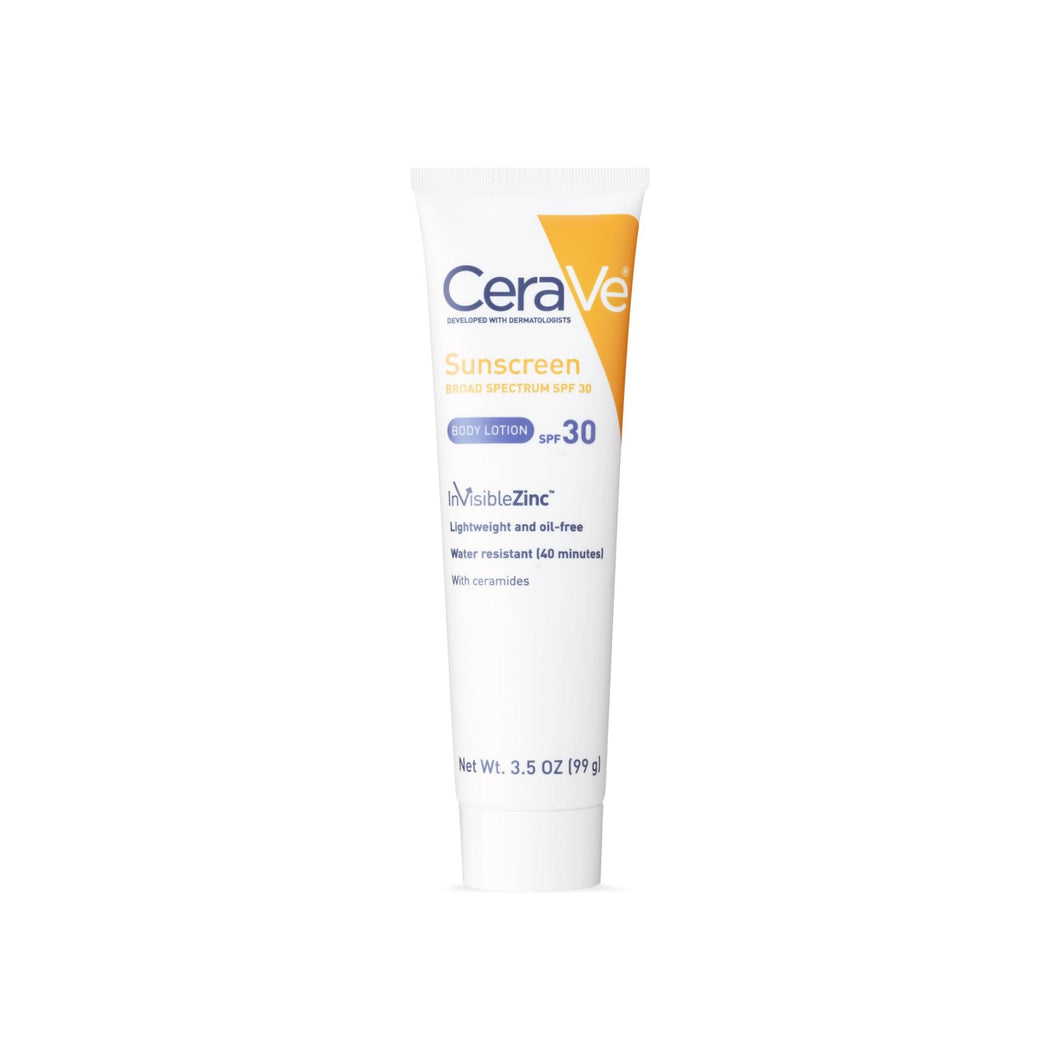 CeraVe Sunscreen Body Lotion SPF 30  3.5  oz