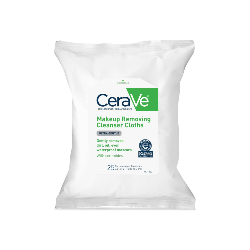 CeraVe Makeup Removing Cleanser Cloths 25 ea