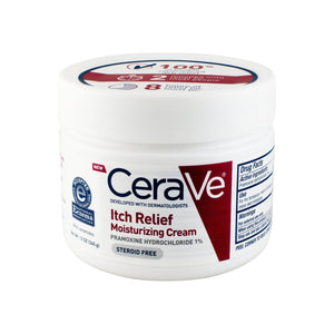 CeraVe Itch Relief Moisturizing Cream 12 oz