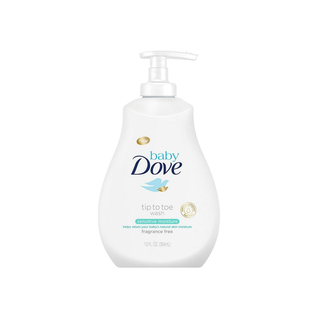 Baby Dove Tip to Toe Wash, Sensitive Moisture 13 oz