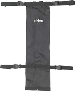 Drive Medical Oxygen Carry Bag Drive Black Nylon 4-3/4 X 7-1/2 X 26-1/2 Inch 1 ea