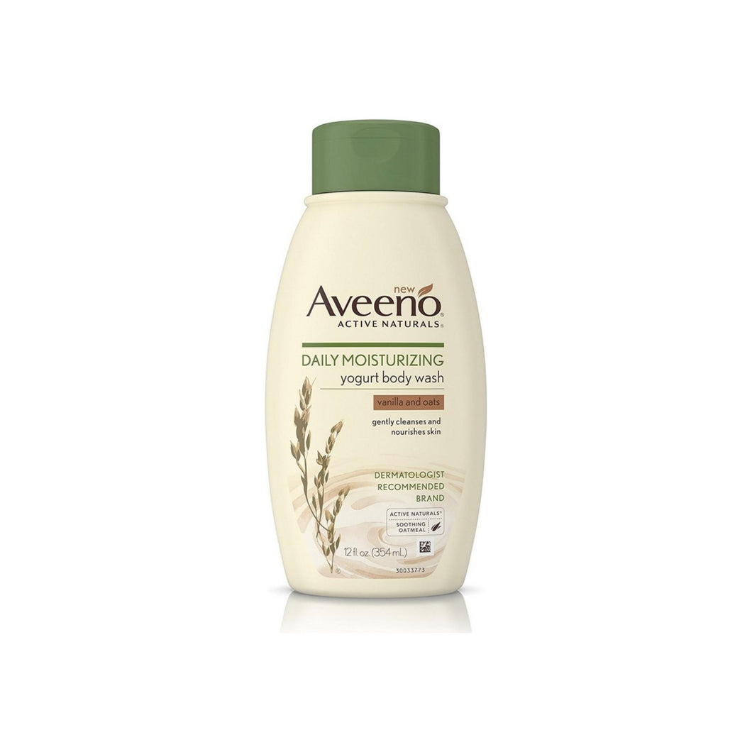 Aveeno Daily Moisturizing Body Yogurt Lotion, Vanilla & Oat 12 oz