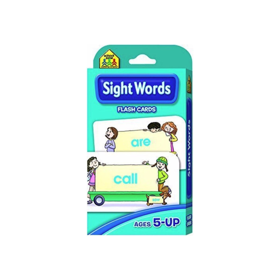 School Zone Beginning Sight Words Flash Cards 55 ea
