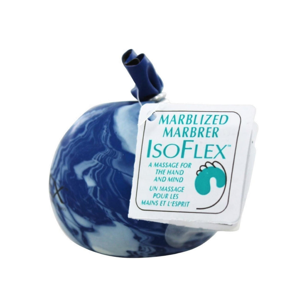 IsoFlex Marbleized Hand Massage Therapy Ball 1 ea - Colors May Vary