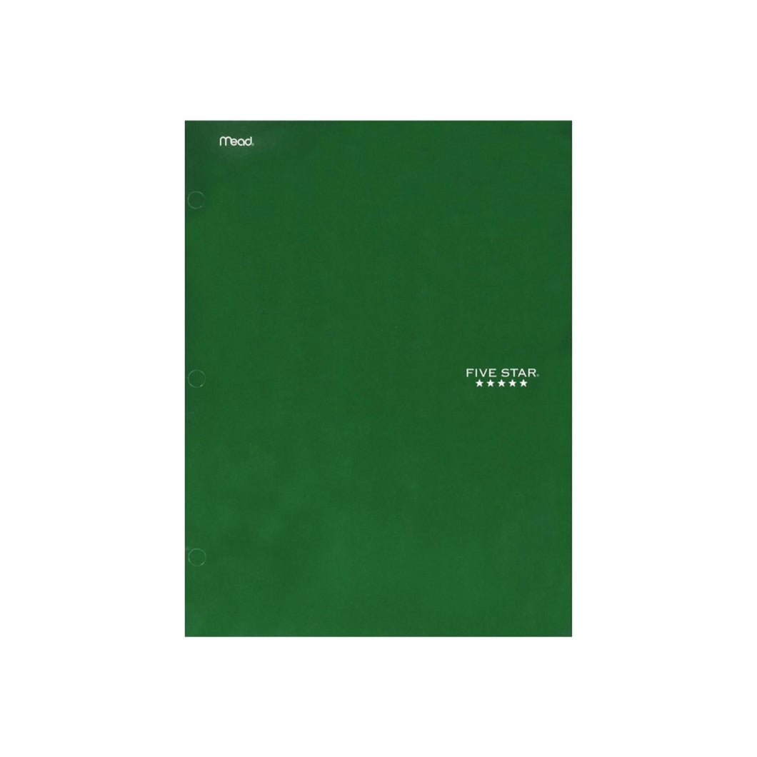 Mead Five Star 4 Pocket Paper Folder, Color May Vary 1 ea