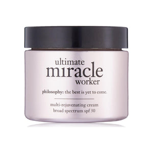 Philosophy  Ultimate Miracle Worker Multi-Rejuvenating Cream Broad Spectrum SPF 30 2 oz