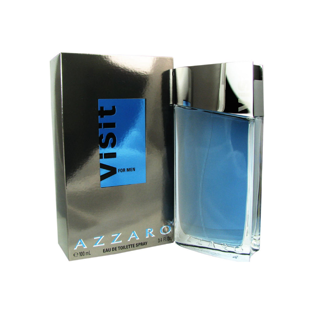 Visit By Azzaro Eau De Toilette Spray For Men 3.3 oz
