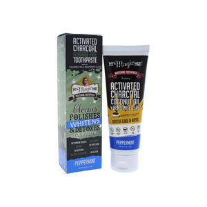 My Magic Mud Activated Charcoal Toothpaste Peppermint 4 oz