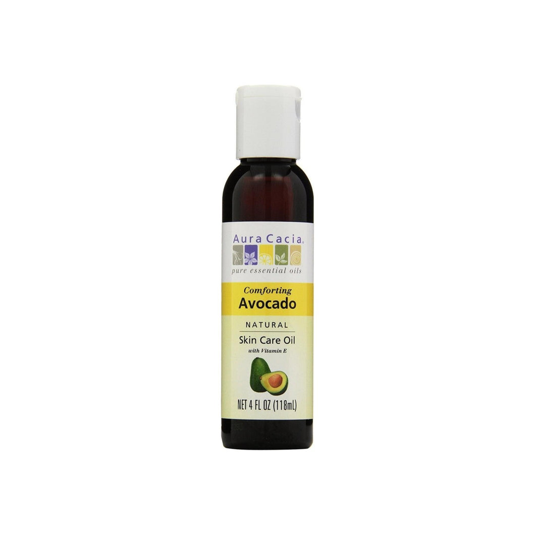 Aura Cacia Natural Skin Care Oil, Avocado 4 oz