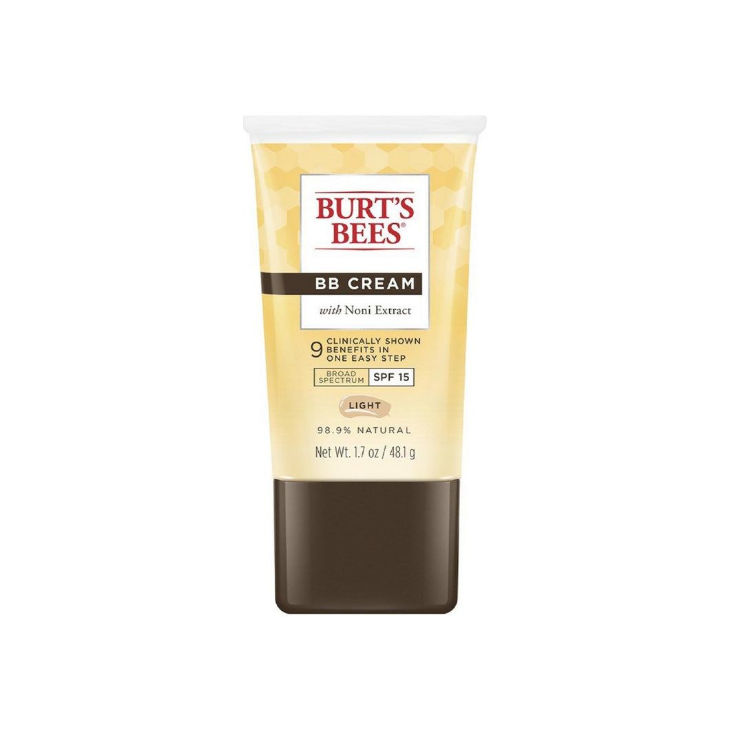 Burt's Bees BB Cream with Noni Extract SPF 15, Light 1.7 oz