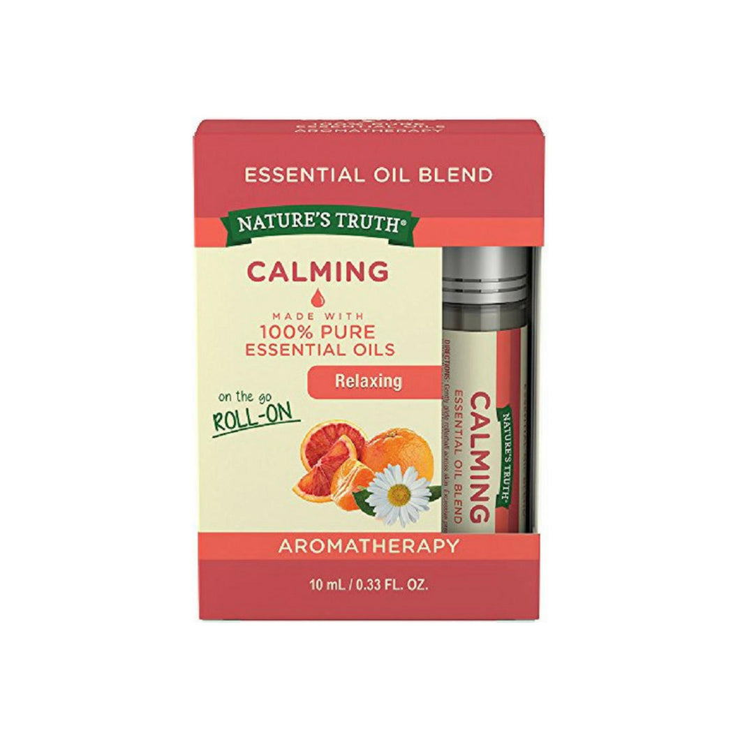 Nature's Truth Essential Oil Roll-On Blend, Calming 0.33 oz