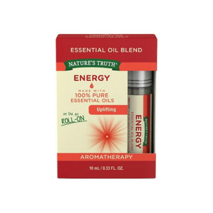 Nature's Truth Essential Oil Roll-On Blend, Energy 0.33 oz
