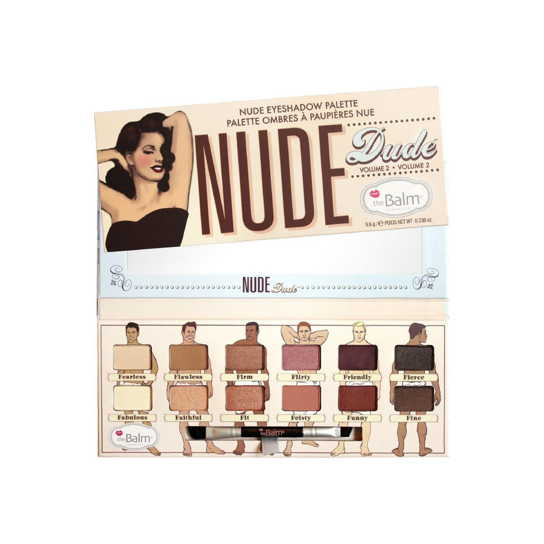 theBalm Nude Dude Volume 2 Eyeshadow Palette 0.336 oz