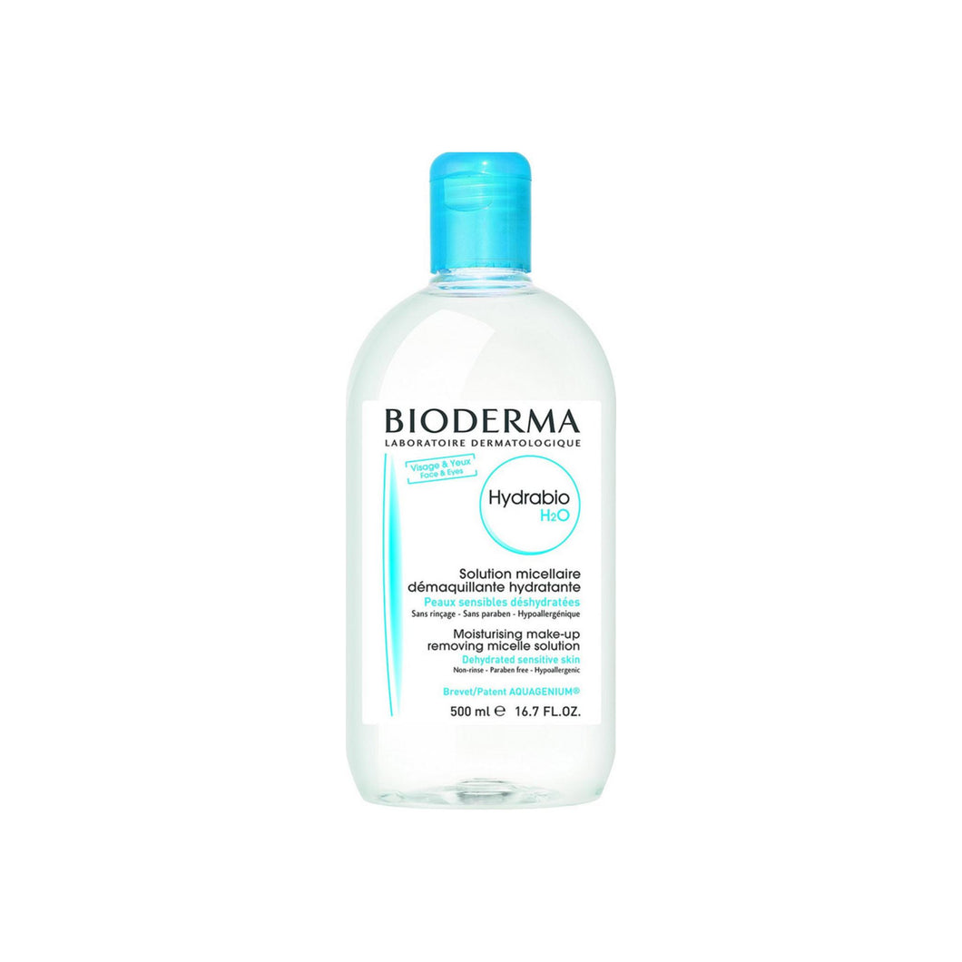 Bioderma Hydrabio H2O Micellar Water, Cleansing and Make-Up Removing Solution 16.7 oz