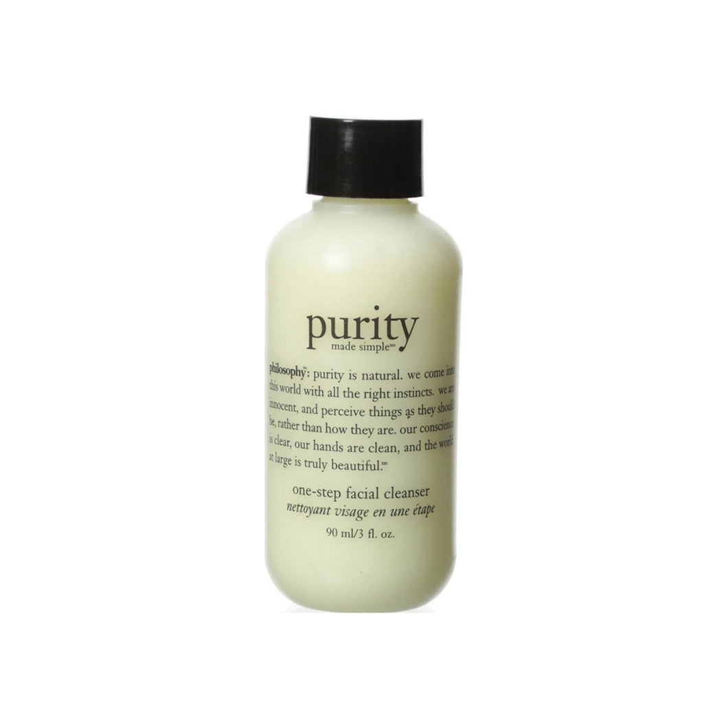 Philosophy  Purity Made Simple One Step Facial Cleanser  3 oz