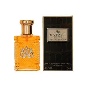Safari By Ralph Lauren Eau De Toilette Spray For Men 2.5 oz